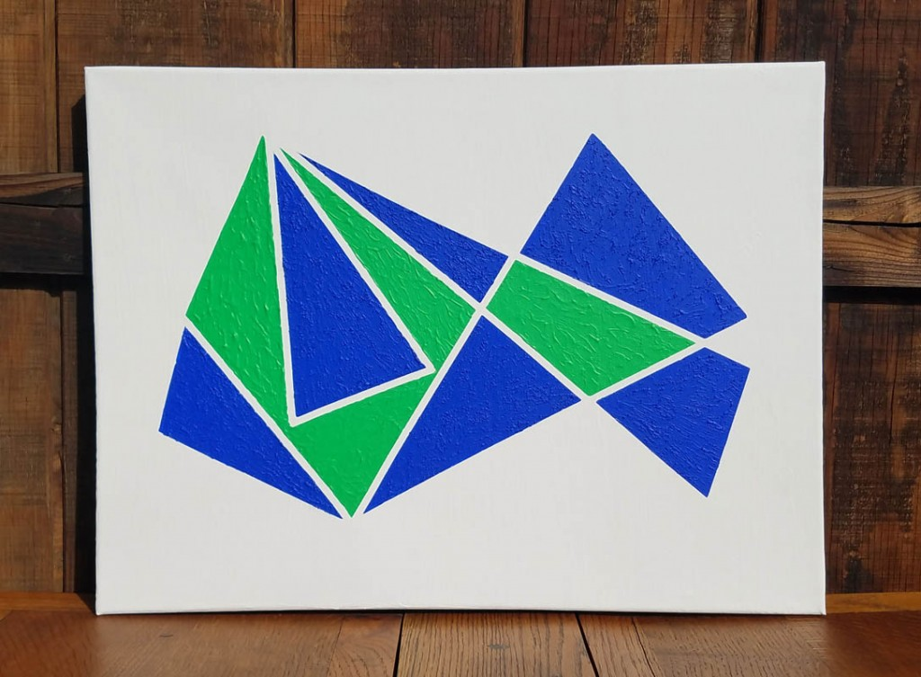 2 triangle-blue